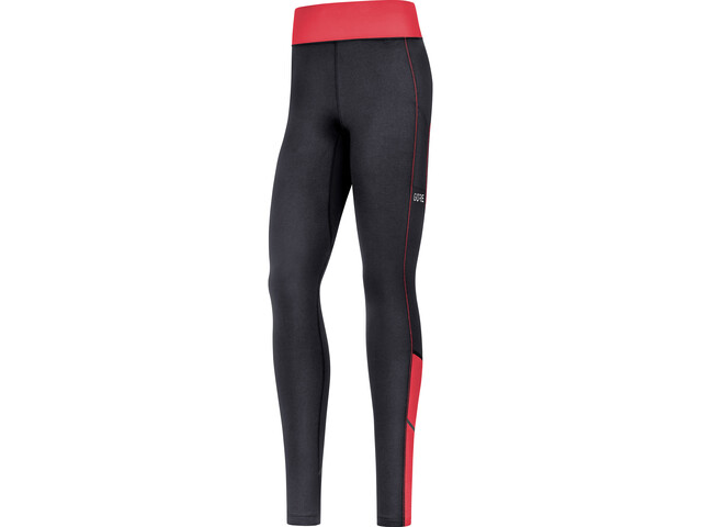 GORE WEAR R3 Leggings Thermique Femme, black/hibiscus pink